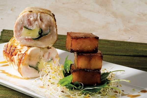 Receta de Pamplona de pollo y calabazas
