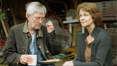 Charlotte Rampling y Tom Courtenay en la brillante 45 Years