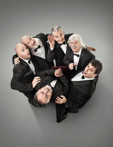 Les Luthiers, músicos. Tapa del 15/10/17