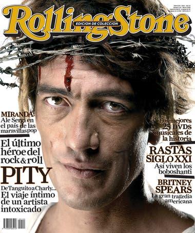 Pity Álvarez en la portada de RS 120, marzo de 2008