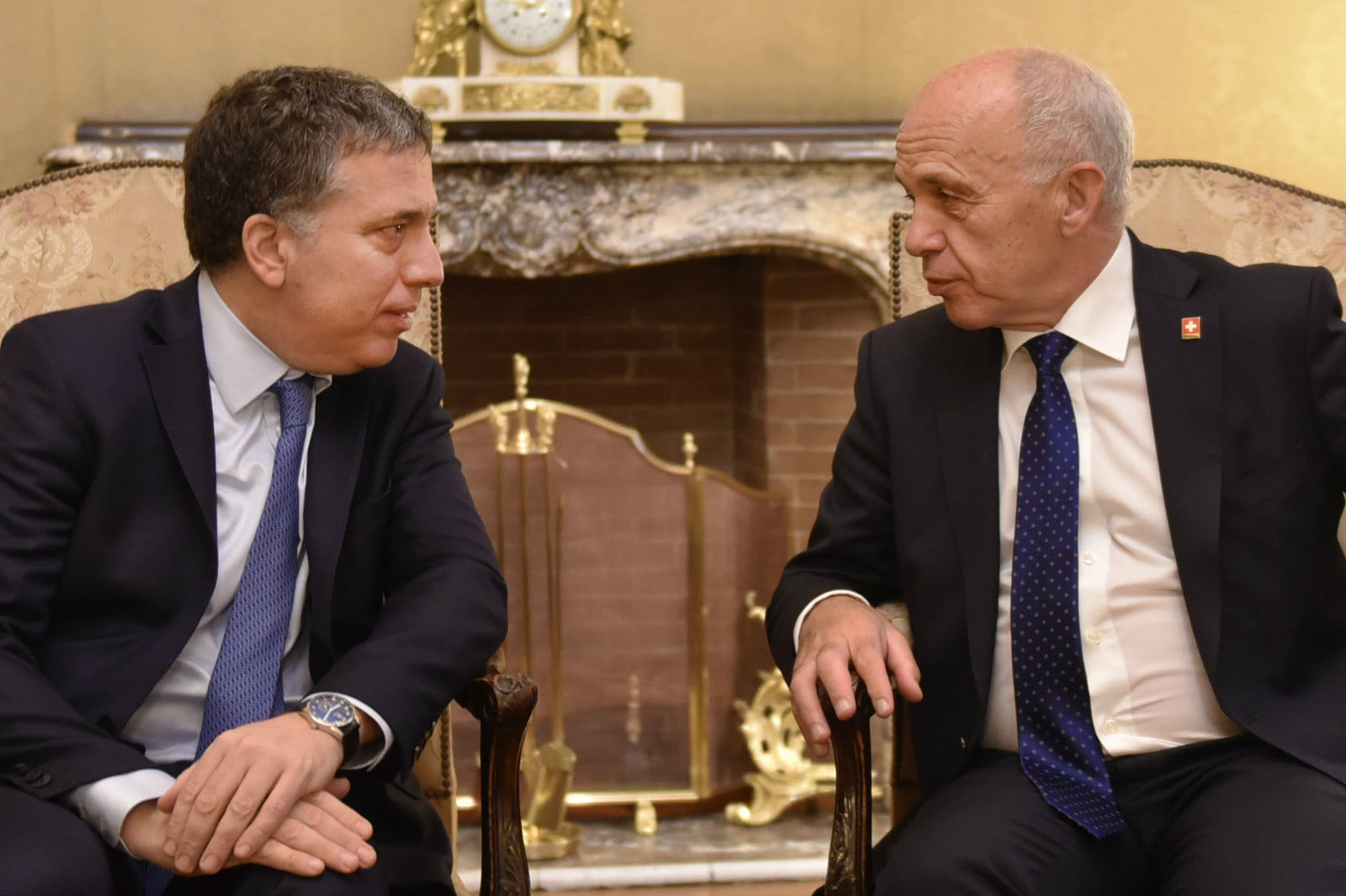"""Ueli Maurer: """"Los inversores suizos están esperando más estabilidad política"""""""
