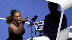 La irrisoria multa que recibió Serena Williams por el escándalo en la final femenina del US Open
