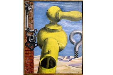 La metamorfosis del pájaro azul, Antonio Berni, 1932