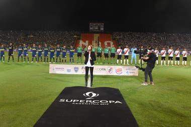En Mendoza, en marzo, River y Boca jugaron la Supercopa Argentina con público de ambos equipos