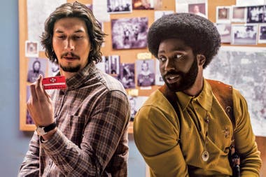 Adam Driver y John David Washington en El infiltrado del KKKlan, de Spike Lee