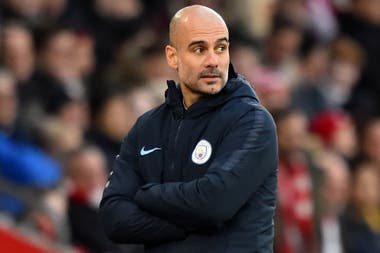 Guardiola, conductor del City