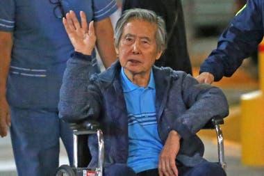 Alberto Fujimori volvió a la prisión en enero pasado