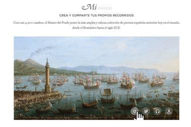 El Museo del Prado propone en su página crear y compartir los propios recorridos