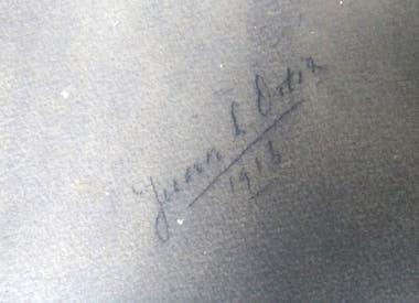 Firma de poeta y de artista