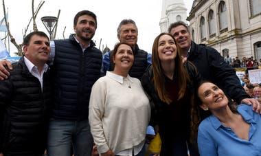"""El presidente encabezó una nueva marcha del """"Sí, se puede"""""""
