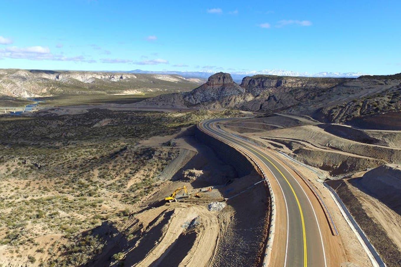 """La """"obra vial del año"""": la nueva ruta 40 en Mendoza"""