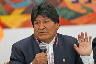 """La última referencia que se tuvo en relación con el paradero de Morales se encuentra en su carta de renuncia, datada en """"el valeroso trópico de Cochabamba"""", según expresó en la carta"""