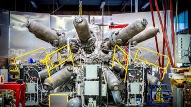 El sistema de compresión para el reactor General Fusion funciona con pistones a gran escala