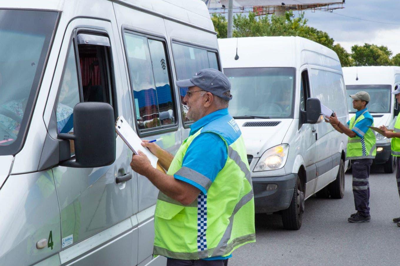 Se reforzaron los controles de transporte para particulares y colectivos en Año Nuevo