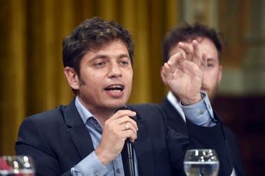 Kicillof asistió ese día a la asamblea de accionistas de Clarín con Daniel Reposo (Sigen) y Guillermo Moreno (Secretario de Comercio)