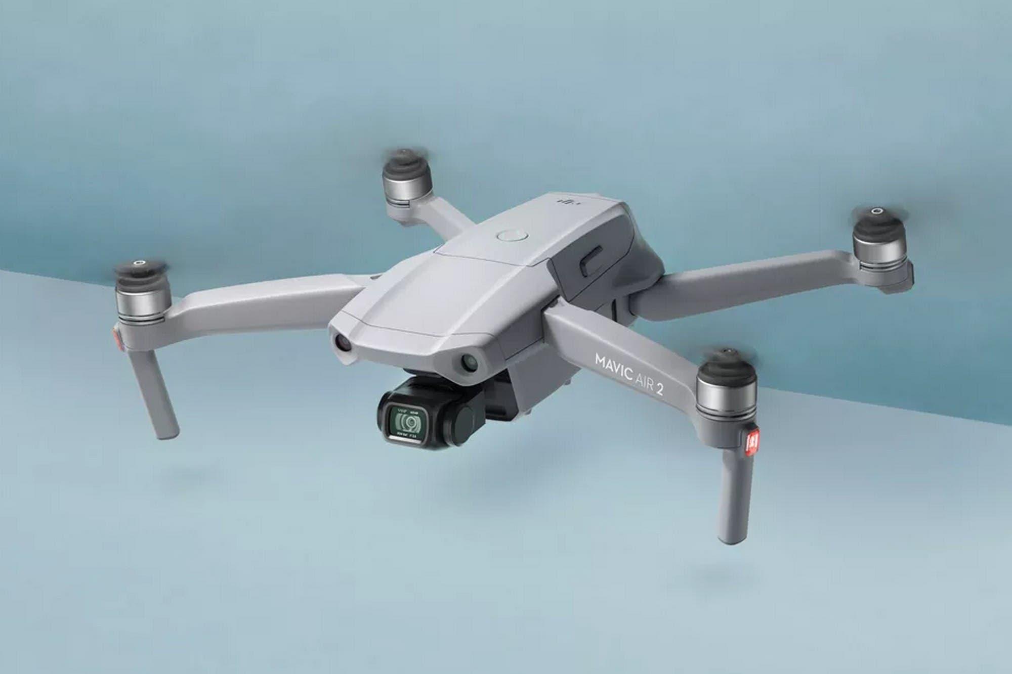DJI presenta Mavic Air 2, su nuevo drone con una batería más grande y una cámara de 48 megapixeles