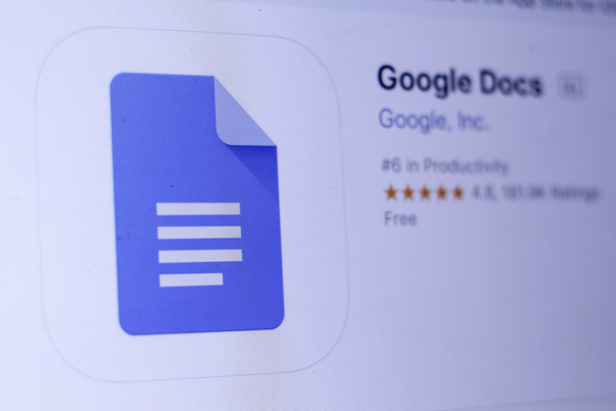 Google Docs ahora ofrece sugerencias gramaticales y correcciones en español