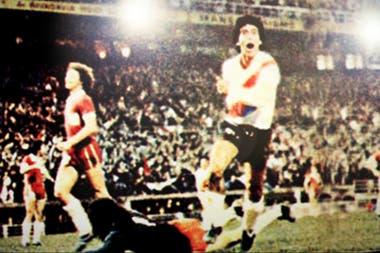 Rubén Bruno fue el autor del gol que le dio a River el Metropolitano 1975, el primer título después de 18 años de sequía