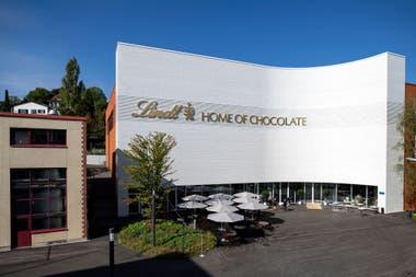 En Zúrich se inauguró Lindt Home of Chocolate, fábrica y museo para sumergirse en el mundo del dulce