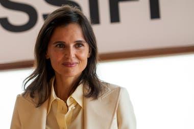 Elena Anaya dijo presente en el festival de San Sebastián para promocionar el film de Woody Allen, del que participa