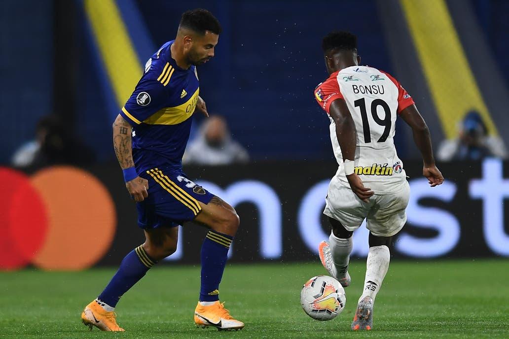 Inter-Boca: horario, TV y formaciones del partido de octavos de final de la  Copa Libertadores - LA NACION
