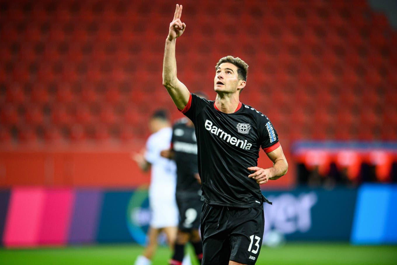 Bundesliga. El doblete de Lucas Alario para el triunfo de Bayern Leverkusen ante Augsburgo