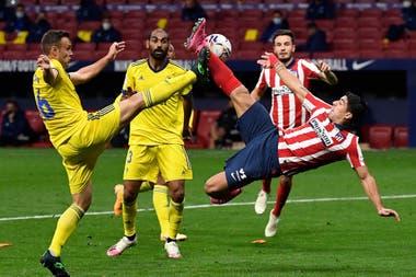 Luis Suárez creó una revolución en el Atlético de Madrid, que tiene un planteamiento muy ofensivo