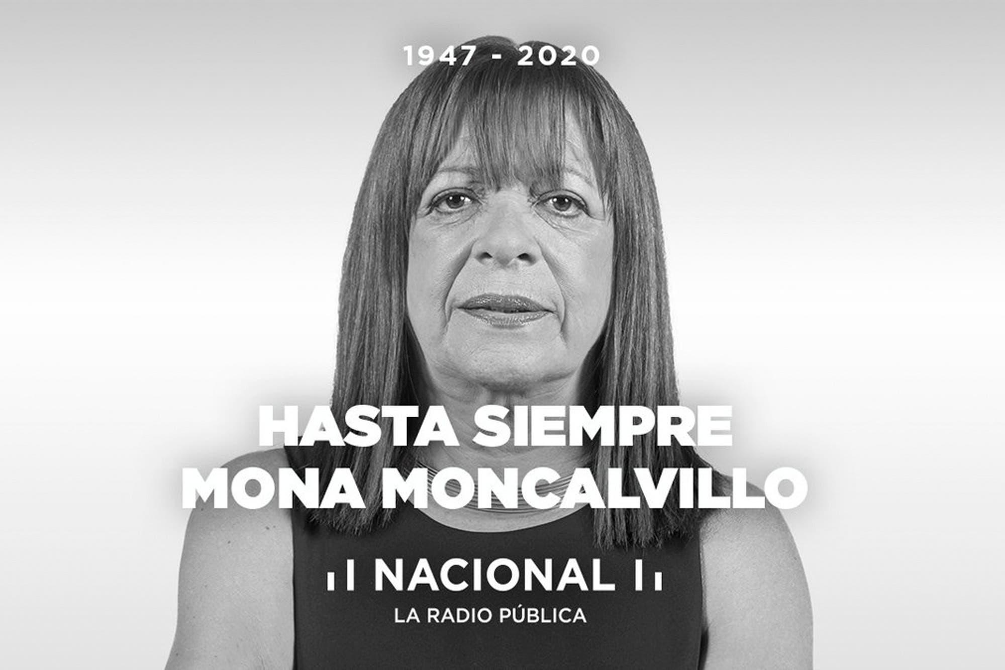 Murió la periodista Mona Moncalvillo, a los 73 años - LA NACION