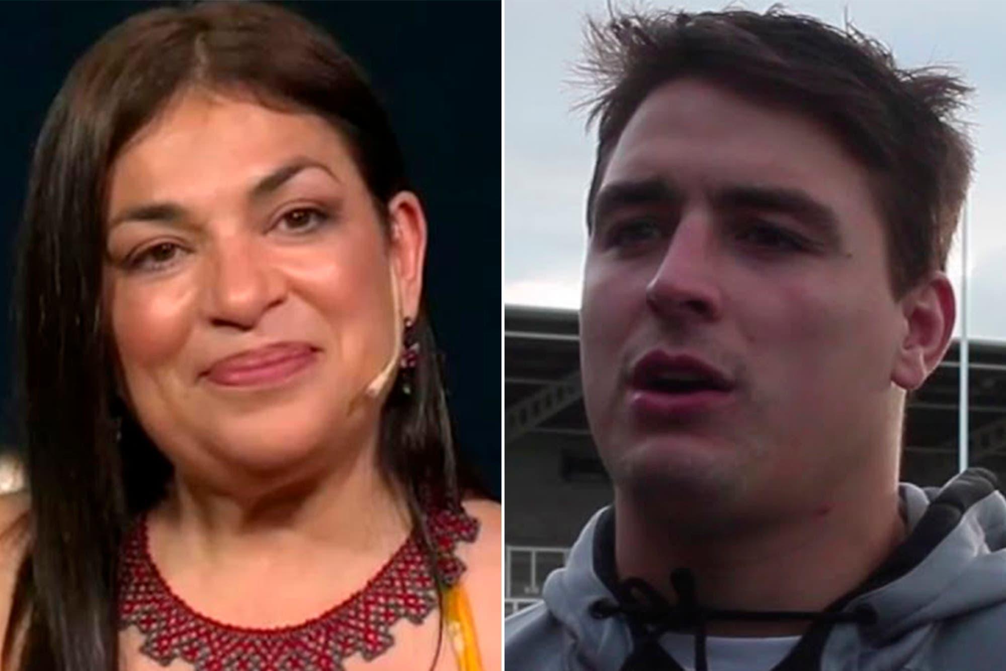 Claribel Medina reveló el mensaje que le mandó el rugbier Santiago Socino, tras la aparición de unos desagradables tuits