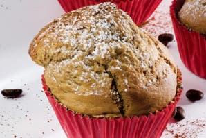 Muffins de pera y chocolate