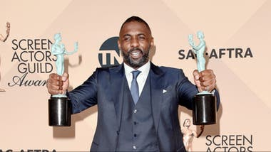 Idris Elba, ganador por Beasts of No Nation y por Luther