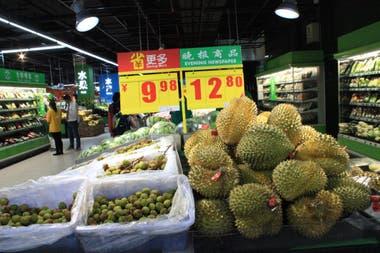China mejora su consumo de alimentos