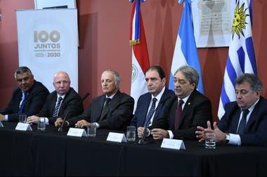 Argentina, Uruguay y Paraguay, unidos en la causa común del Mundial 2030