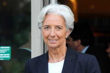 Christine Lagarde, la directora del FMI