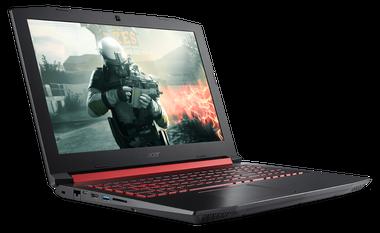 Pura sangre. Esta es la Nitro 5 de Acer, diseñada par videojuegos, con un Core i7 de octava generación y 8 GB de RAM ($ 24.699)