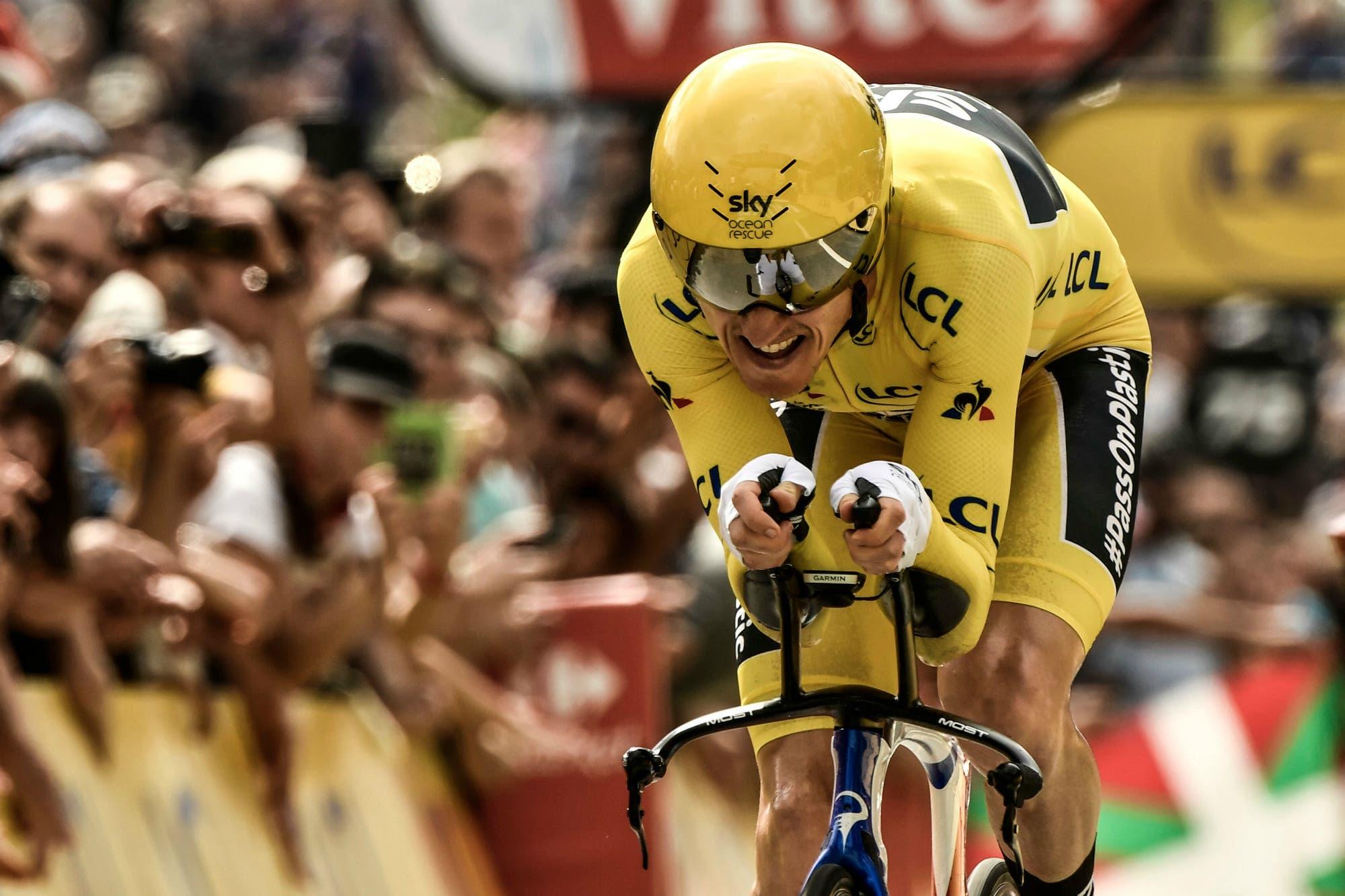 Geraint Thomas, el ganador del Tour de Francia que lloró como el día de su casamiento