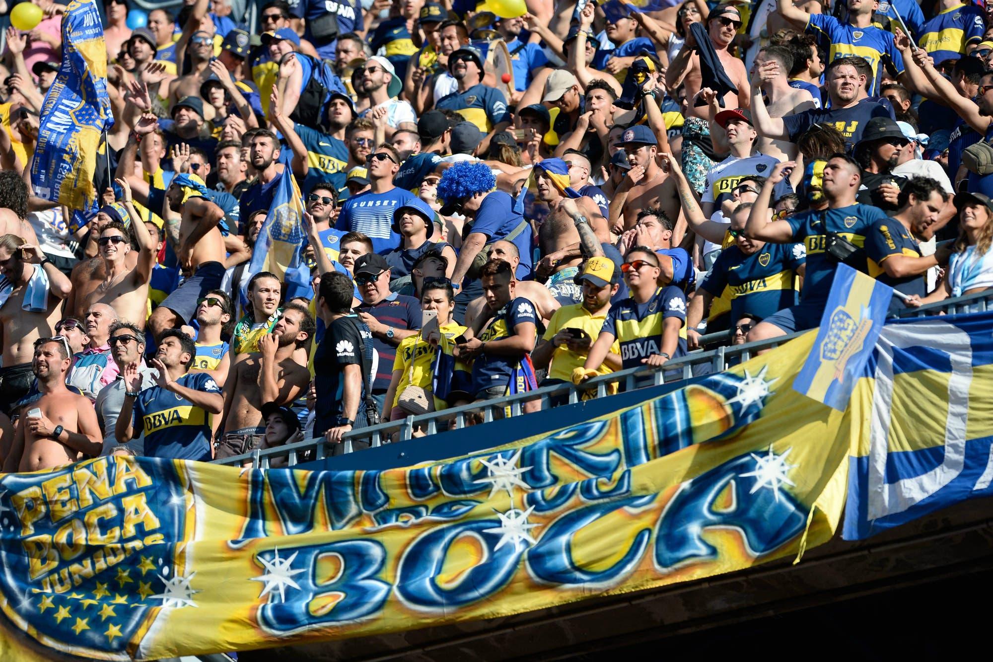 Barcelona-Boca: los hinchas argentinos, con todo lo bueno y lo malo que eso conlleva en Europa