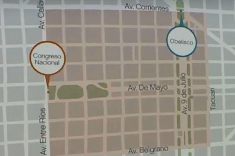 Paro nacional: el mapa de los cortes de calles