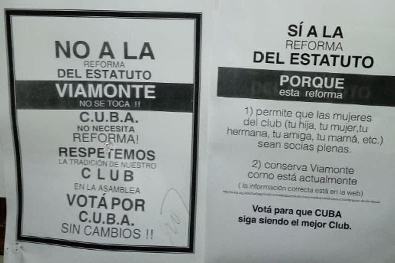 """5bd2158d21 """"La resistencia de Viamonte"""": el grupo de hombres del club CUBA que no  quiere socias mujeres - LA NACION"""