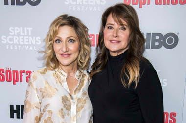 Lorraine Bracco y Edie Falco