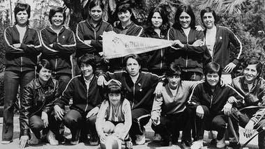 La primera selección femenina argentina en el Mundial de México 1971