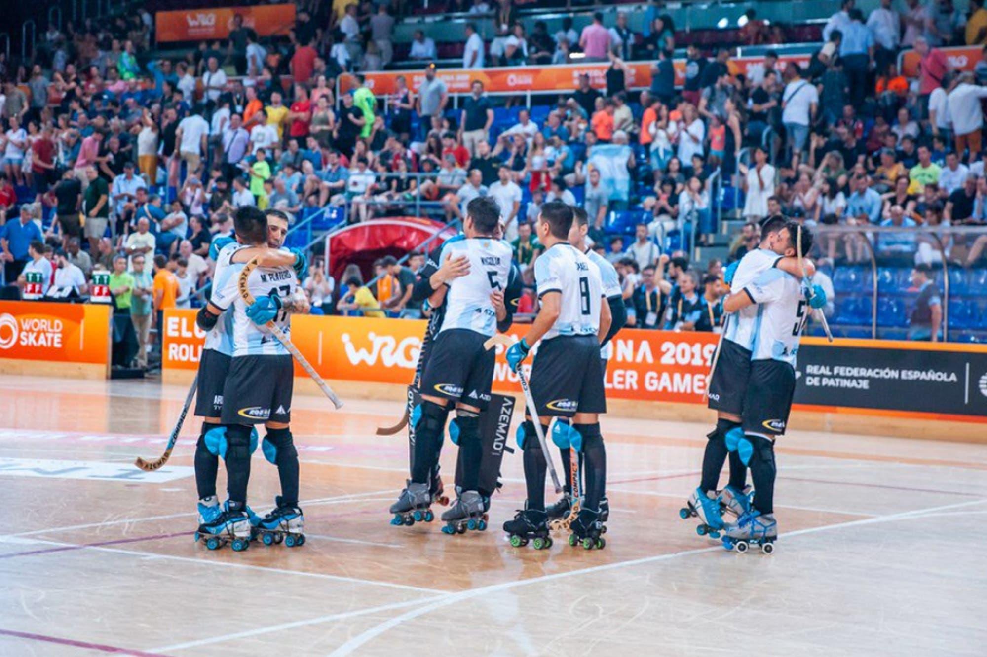 Hockey sobre patines: la Argentina perdió dos finales mundiales en un día
