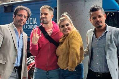 Morena Rial y Martín Cirio hicieron las pases en una mediación