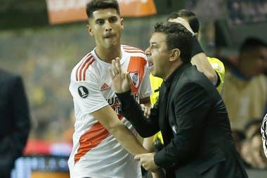 Marcelo Gallardo, a pura intensidad; el Muñeco es el orfebre de este River copero