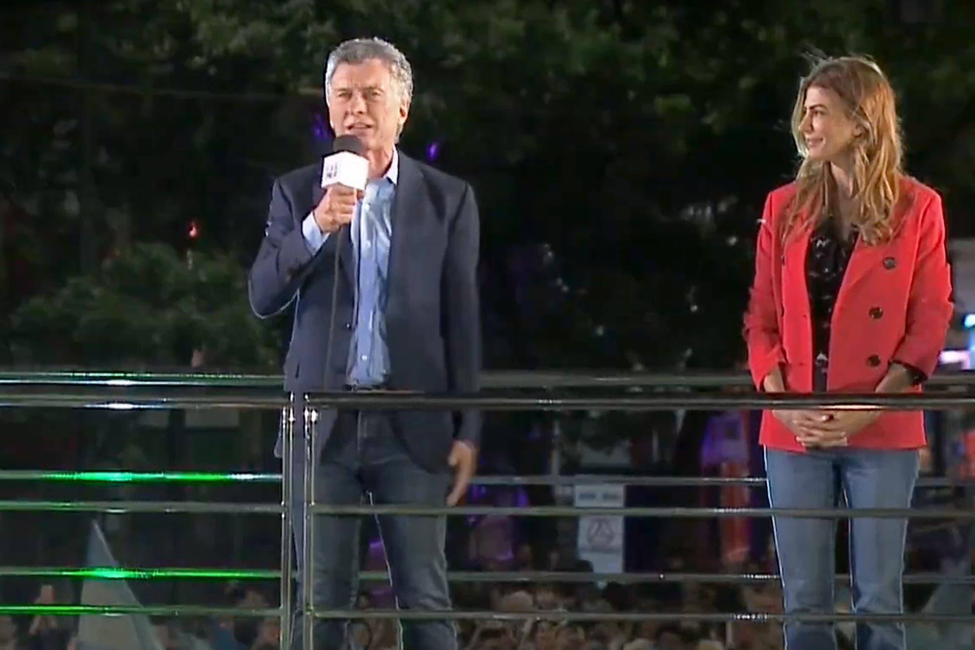 Mauricio Macri cierra su campaña electoral en la capital de Córdoba