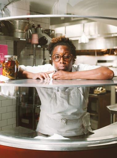 Mashama Bailey, una de las protagonistas de la última temporada de Chef's Table, un programa biográfico