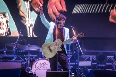 Ciro y Los Persas ya se estableció como un clásico del Cosquín Rock. Durante su presentación repasó su carrera solista y le dio el gusto a sus fans de recordar algunos de los mejores temas de Los Piojos