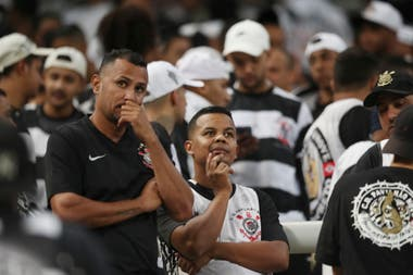 La decepción de los hinchas de Corinthians