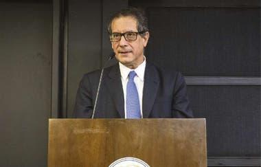 Miguel Ángel Pesce es el presidente del Banco Central