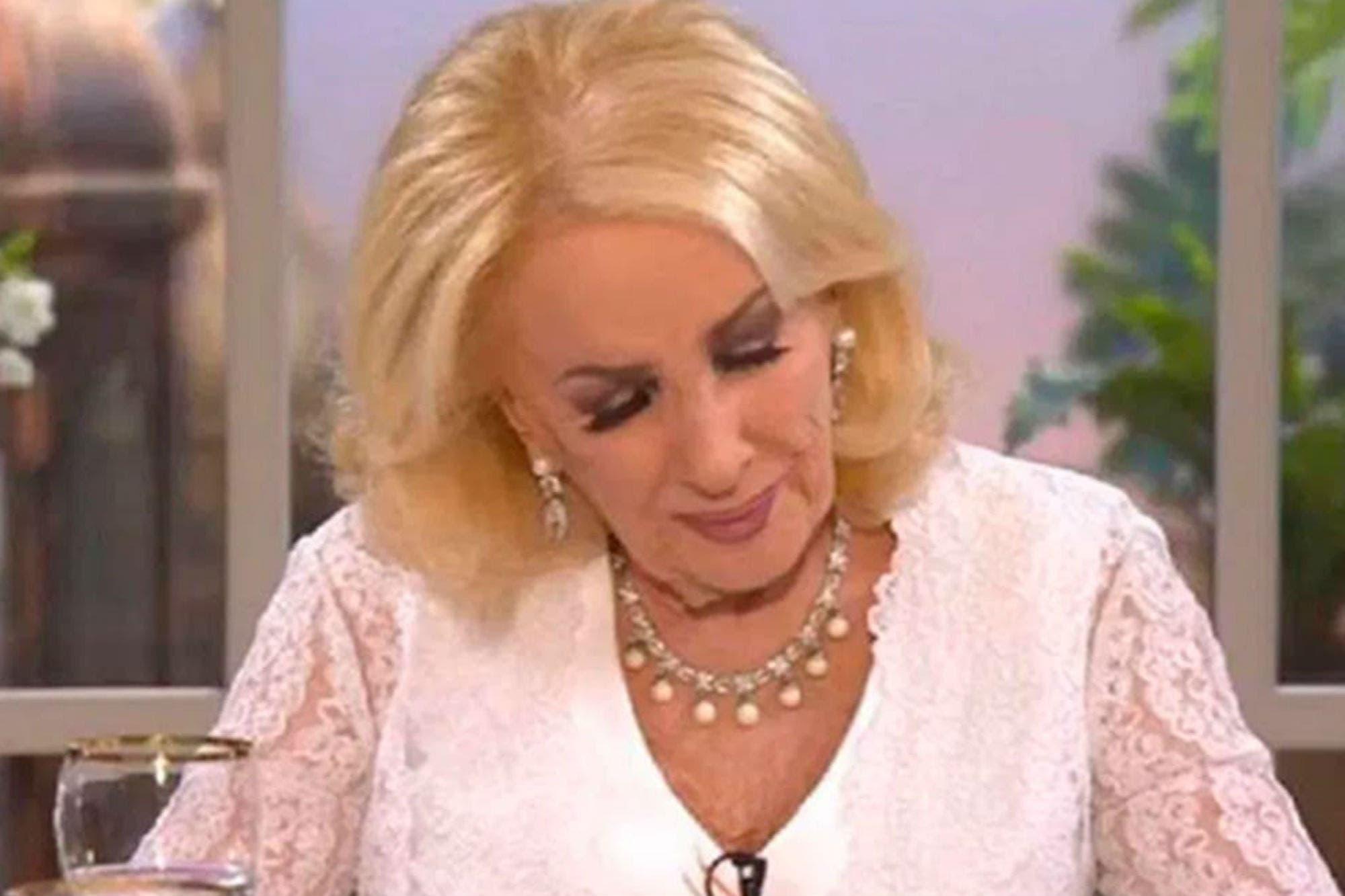 Mirtha Legrand habló por primera vez en su programa después de la muerte de Goldy